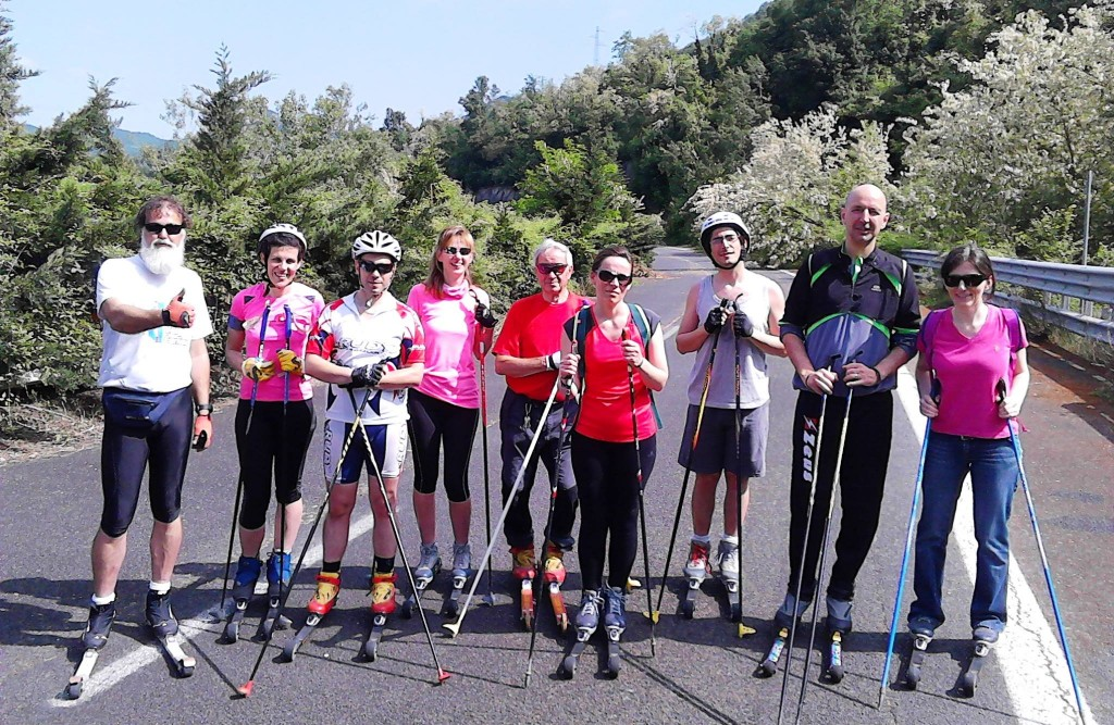 L'Acquadela Skiroll Team